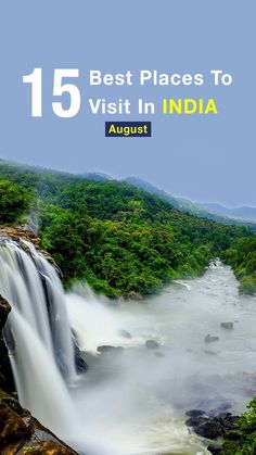 Best In In are the most sought destinations where one can enjoy the best of season like Kerala, & Meghalaya. Best Places To Travel, Cool Places To Visit, Holiday Destinations In India, August Holidays, Visit India, Udaipur, India Travel, Monsoon, Kerala