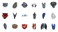 Imaginary Beings: Mythologies of the Not Yet includes 18 new works for the human body by Neri Oxman.