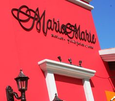 Maria Marie Restaurant in the Royal Cancun . Serves gourment Mexican-French cuisine.