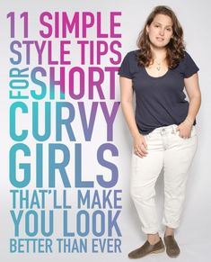 Style tips for short, curvy women