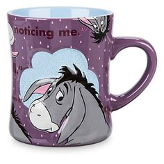 Disney Coffee Mug - Eeyore - Slogans