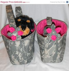 ON SALE Military Pet Sling Carrier  by chiwawagearharnesses, $41.65
