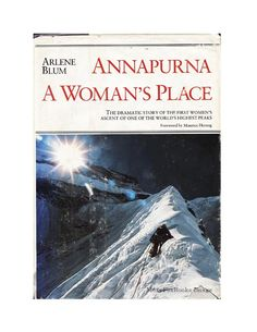 Womens Climbing Expedition Annapurna Himalayan  A by MoxyFoxBooks