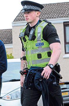 Cop Uniform, Police Uniforms, Men In Uniform, Police Officer, Hot Cops, Big 5, Biker Leather, Military History, Law Enforcement