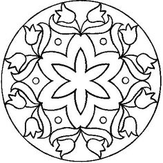 All Things Parchment Craft: My Free Patterns--this would be a cute embroidery pattern also