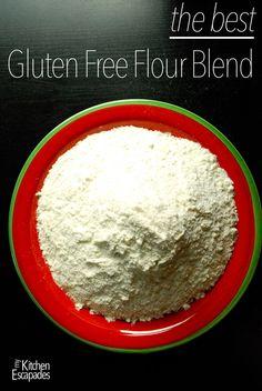 The Best Gluten-Free Flour Blend - My Kitchen Escapades