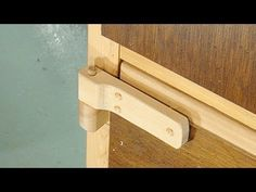Make your own wooden hinges