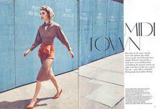 Vogue UK August 2011: Midi Town