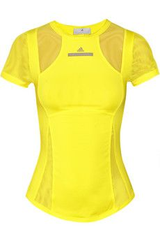 Work out in style and be your own hazard sign! Adidas by Stella McCartney #running #gear #workout