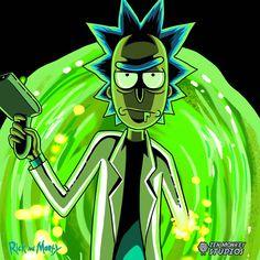 Rick And Morty Illustration ilustracion
