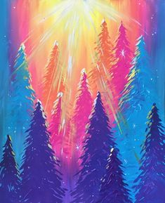 Learn to paint Magical Moment