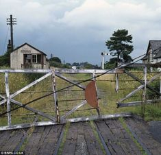 By 1970 Llangybi station, in Wales was disused and overgrown following the widespread closures by Dr Beeching.