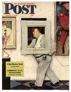 Norman Rockwell, Framed on ArtStack #norman-rockwell-1894-1978 #art