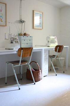 Sewing Room Designs Design Ideas, Pictures, Remodel, and Decor - page 27
