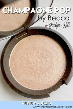 Champagne Pop collaboration by Becca Cosmetics and Jaclyn Hill takes the makeup world by storm. Becca Champagne, Champagne Pop, Best Drugstore Foundation, Best Foundation, Diy Beauty, Beauty Hacks, Millennial Generation, Sugar Scrub Diy, Becca Cosmetics