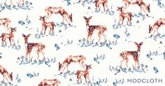 Free Wallpaper of the Week: The 'Fawn' Don't Stop -