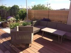 Blog - Pflanzplan Outdoor Sectional, Sectional Sofa, Outdoor Furniture Sets, Outdoor Decor, Planer, Home Decor, Rooftop Terrace, Balcony, Minimalist Furniture