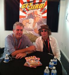 1 | Get A Taste Of Anthony Bourdain's First Graphic Novel | Co.Create: Creativity \ Culture \ Commerce - love satire!