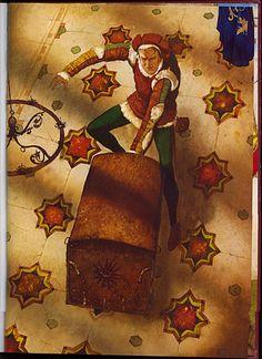 "Wladimir Dowgialo illustration from ""Servants""."