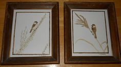 pyrography pictures of chickadee by cratina on Etsy, $50.00