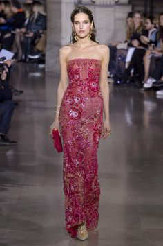 Georges Hobeika Spring 2018 Couture Fashion Show - The Impression