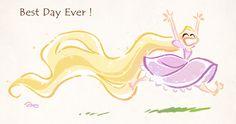 David Gilson: Rapunzel, Best Day Ever!