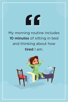 What is your morning routine? Sleep Quotes, Wise Words, Routine, Family Guy, Guys, Movie Posters, Fictional Characters, Film Poster, Popcorn Posters