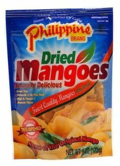 Philippine Brand Dried Mango, 8 pk - Free Shipping