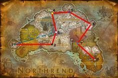Kalimdor Map from World of Warcraft from wow.gamepressure