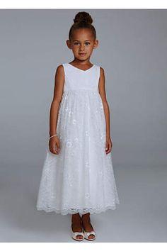 David's Bridal Baptism Dresses