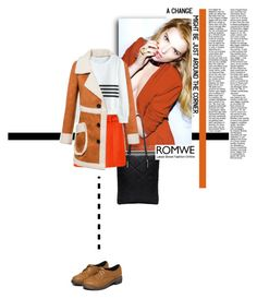 """""""Romwe"""" by diamond-flower ❤ liked on Polyvore featuring Behance and romwe"""