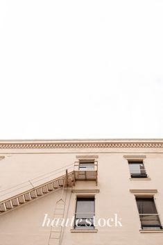 Urban cityscape, lifestyle & travel stock photos for female entrepreneurs from Haute Stock featuring neutral building. #hautestock #lifestyle #stockphotography #blogging #socialmedia #femaleentrepreneur #marketing #businessowner #branding #city #travel #urban #modern Modern City, Blogging, Travel Photography, Neutral, Branding, Urban, Stock Photos, Marketing, Female
