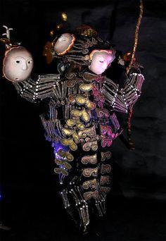 Sha Sha Higby. moon puppet