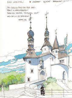 Burg Lauenstein, Ludwigsstadt, D by Jochen Schittkowski