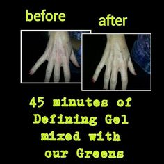 www.kbelvdere.myitworks.com  The amazing defining gel and greens...awesome results! Defining gel $45 when you become a loyal customer