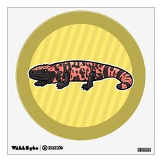 Purchase yourself a bunch of wall decals from Zazzle! Our wall stickers are great for any room in your home or office! Wall Stickers, Wall Decals, Monster Room, Gila Monster, Animal Room, Room Decor, Wall Clings, Pet Store, Room Decorations