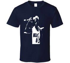 LeBron James Muscle flex t-shirt Basketball legends shirts Heat 6