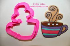 Cristin's Cookies: Brrr It's Cold In Here Winter Cookie Cutters & Free Printable Cookie Tags Hot Cocoa Cookie Cutters IN STOCK Here: www.cristinscookiecutters.com  #cookiecutter  #wintercookiecutter #hotcocoacookiecutter
