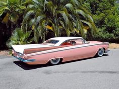 Looking to customize your Cadillac? We carry a wide variety of Cadillac accessories including dash kits, window tint, light tint, wraps and more. Carros Retro, Carros Vintage, Auto Retro, Retro Cars, Dream Cars, Bmw Autos, Pink Cadillac, 1959 Cadillac, Chevrolet Bel Air