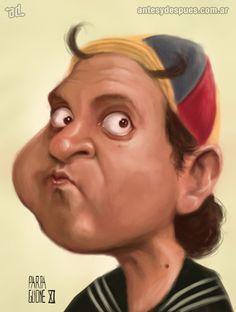 caricatura de Quico