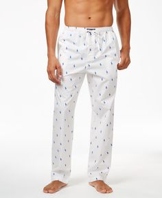 eaa7692068e Polo Ralph Lauren Men s Woven Polo Player Pajama Pants   Reviews - Pajamas