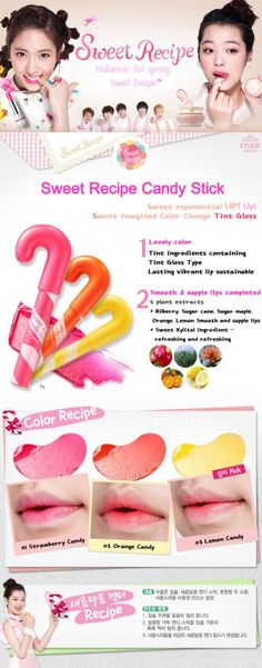 Field of Tulips: Etude House Sweet Recipe Collection-My daughter would love this!