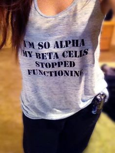 I love my tank from the Type 1 Diabetes Memes Online… More