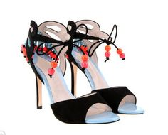 Elegant Black Kid Suede Upper Stiletto Heels Prom Women Sandals 10531319 - High Heel Sandals - Dresswe.Com