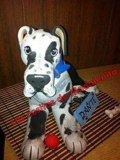 mi primer perro de goma eva