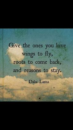 #about #wings #roots and #reasons by #Dalai Lama.