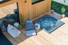 Terrace, Tub, Outdoor Decor, Outdoor Ideas, Garden, Home Decor, Spas, Outdoors, Drop