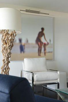 Driftwood oversize print and clean lines
