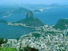 The city of Rio de Janeiro #Brazil, celebrating its 447 year next thursday!