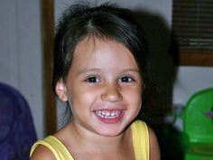 Teghan Skiba, 4 years old.  2010 Horrifically sexually, physically and mentally terrified and tortured for 10 days before going into a coma and dying at the hands of the mother's boyfriend while she was out of town.